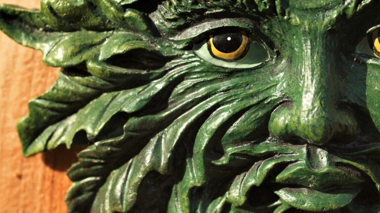 Green man - Zelený muž